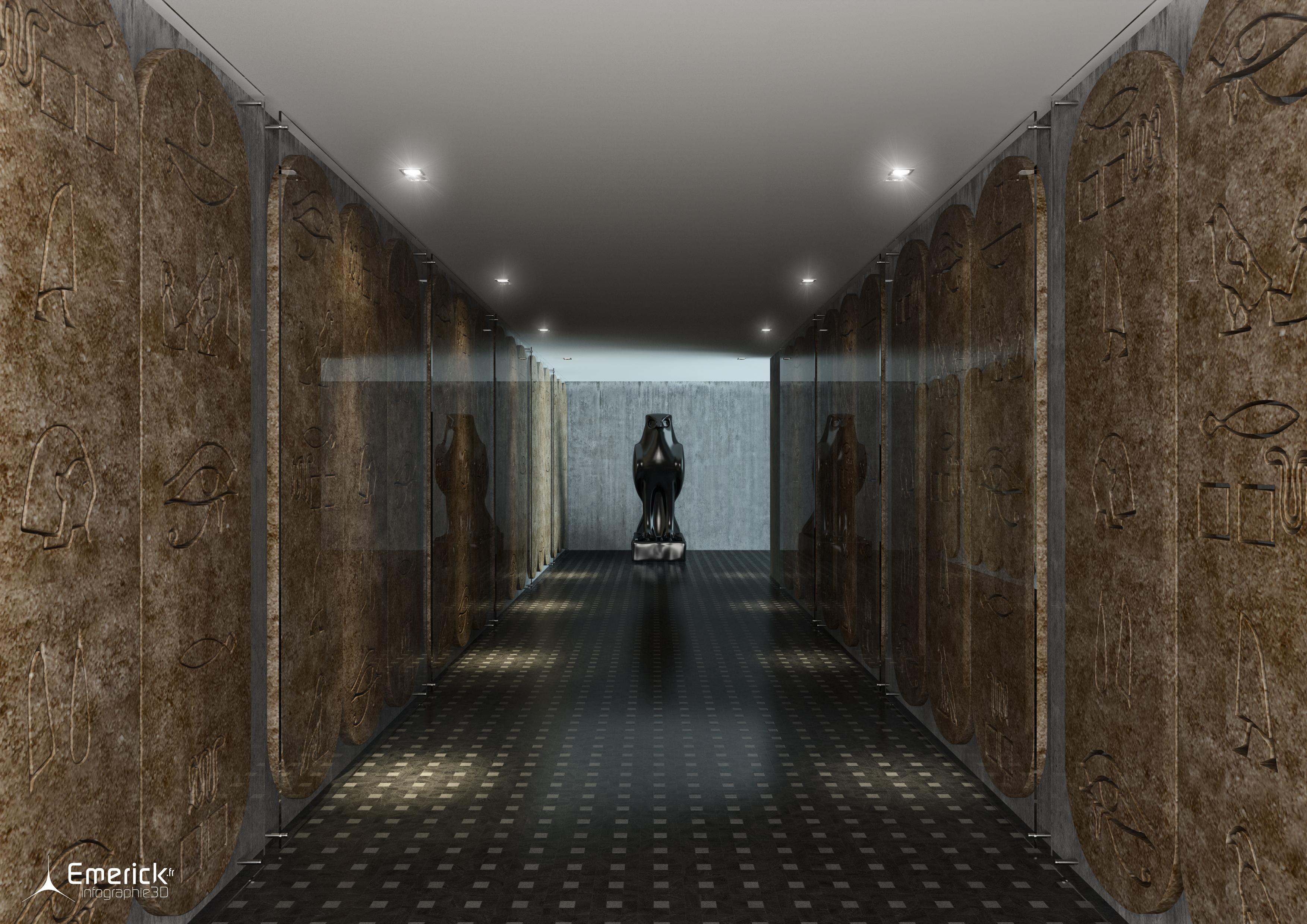 Couloir Vinci